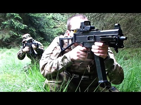 Airsoft War UMP/UMG. Ares FNC POW Scotland HD
