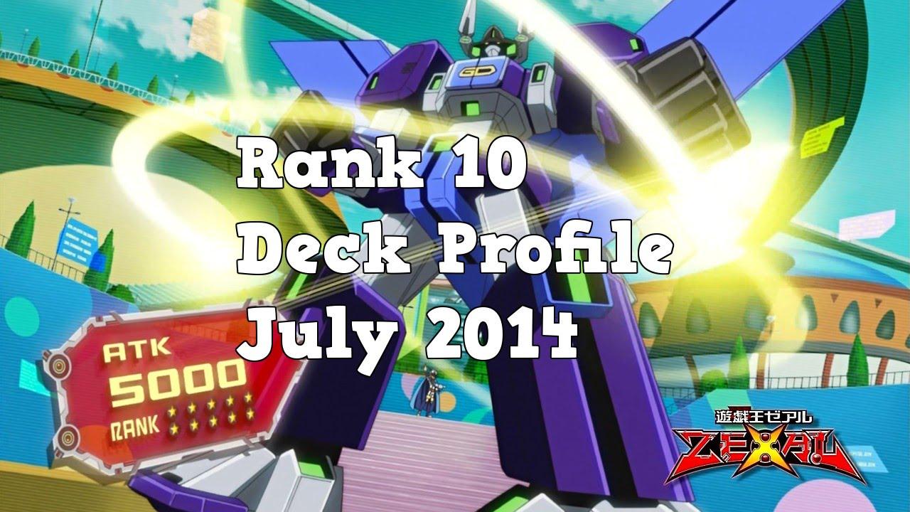 Level Decks Yugioh Yugioh Rank 10 Deck Profile
