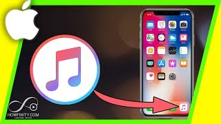 How to add MUSIC from computer to iPhone, iPad or iPod