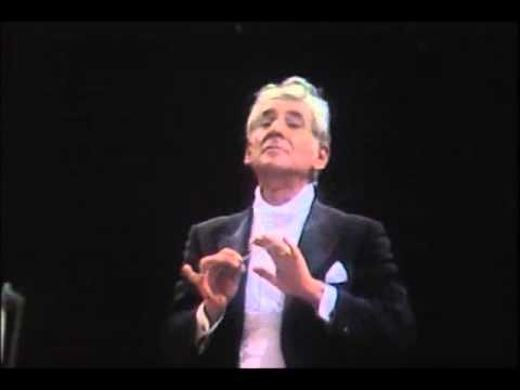 MOZART  Symphony No 40 in G minor KV550 LEONARD BERNSTEIN