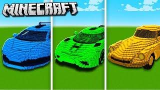 DENIS CAR vs. SUB CAR vs. SKETCH CAR in Minecraft!