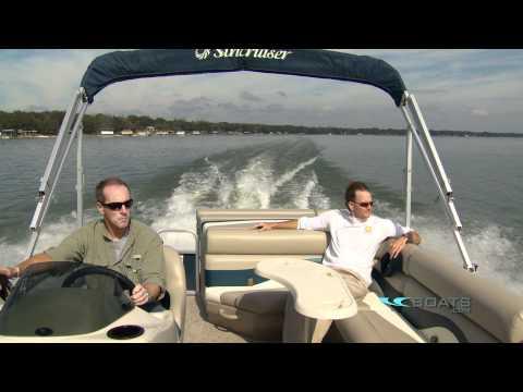 Suncruiser SS210 Aluminum Pontoon Boat Review / Performance Test