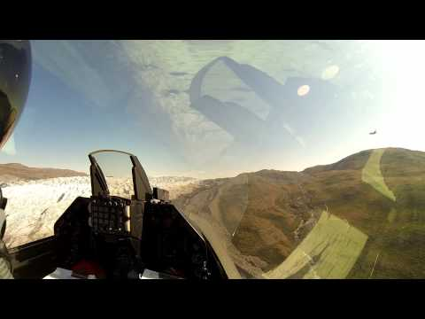 2014 Greenland F16 Low Level Test GoPro