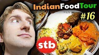 NORTH INDIAN FOOD Tour #16 // Gulati Restaurant Buffet in New Delhi