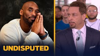 Chris Broussard remembers Kobe Bryant's legacy on and off the court | UNDISPUTED | LIVE FROM MIAMI