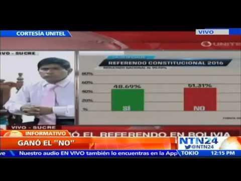 VIDEO: BOLIVIA LE DICE NO A LA INTENCIÓN DE EVO MORALES DE BUSCAR UNA NUEVA REELECCIÓN
