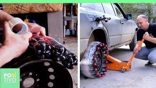 Criou um pneu com garrafas de Coca-Cola | Positivo
