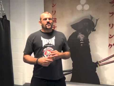Chuck Liddell Training with Egan Image 1