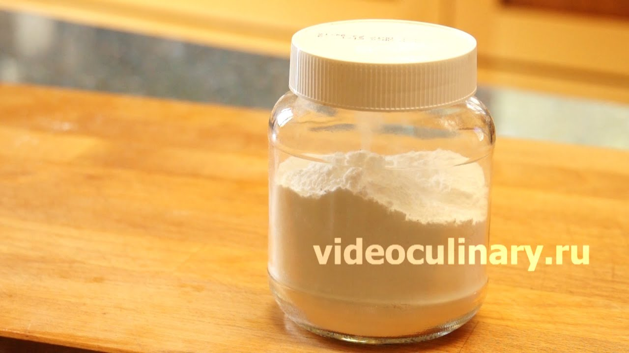 Изготовление сахарной пудры в домашних условиях