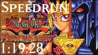 [World Record] Yu-Gi-Oh! Forbidden Memories Speedrun in 1:19:28