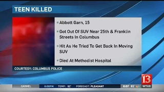 Columbus teen dies in accident