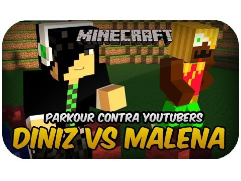 Diniz Vs Malena - Parkour Contra Youtubers video