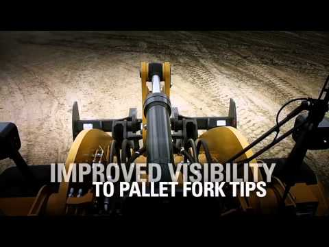 Cat K Series Wheel Loader Optimized Z-bar Linkage