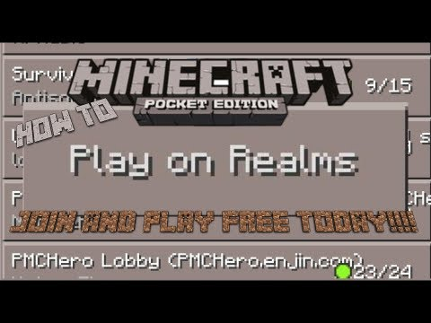 How to PLAY Minecraft PE Realms 0.7.0/0.7.1/0.7.2!!!!!!!! IOS AND ANDROID 2013!!!!!!¨