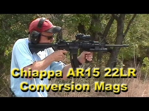 Chiappa AR15 22LR Conversion Magazine (Easiest Mag to Load) - REVIEW