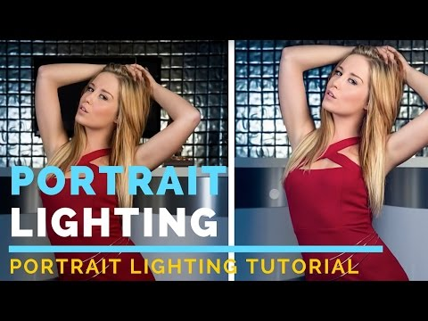 Portrait Lighting Tutorial: Two Light Portrait Flash Photography Tutorial