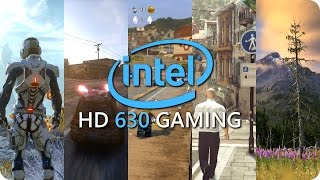 Intel HD 630 Gaming  - Benchmarks and Frame Rate - Part 2