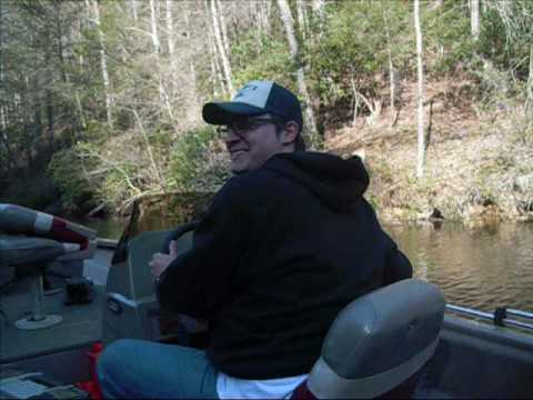 16ft bass tracker with 60hp Mercury Outboard