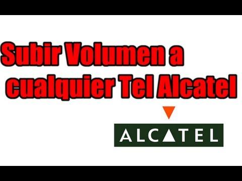 Subir volumen a Cualquier ALCATEL. 100% funcional