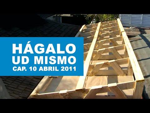 H galo usted mismo programa 10 de abril 2011 youtube for Como hacer tejados de madera