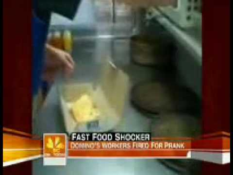 Dominos Pizza- Fast food shocker