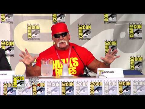 Highlights From Wwe And Mattel's Comic-con International 2014 Panel video