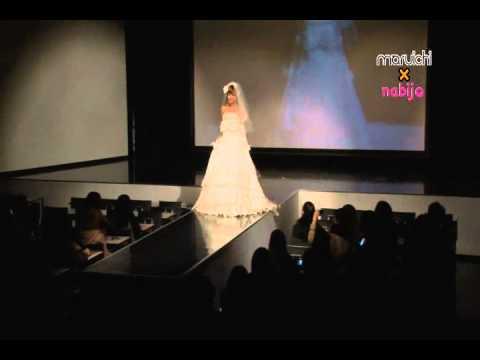 maruichi×nabijo 名古屋モード学園にてウェディングドレス発表!