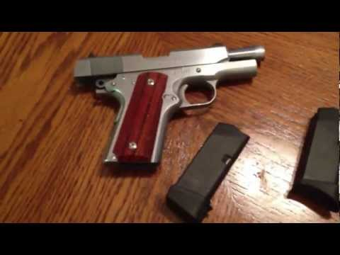 1911 Colt Officer's .45 ACP and Glock 27 gen 4 (side by side)
