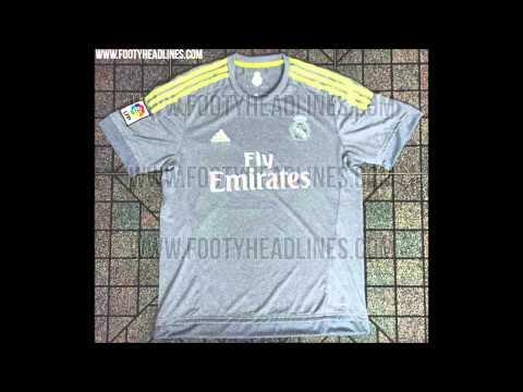 Real Madrid Official Kits 2015/2016