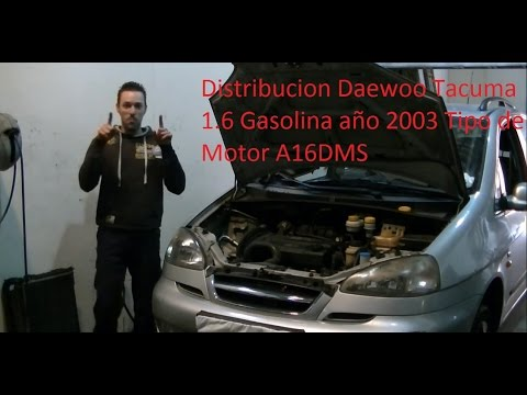 VideoTutorial HD | Cambio de Kit Distribucion Daewoo Tacuma 1600 ´03