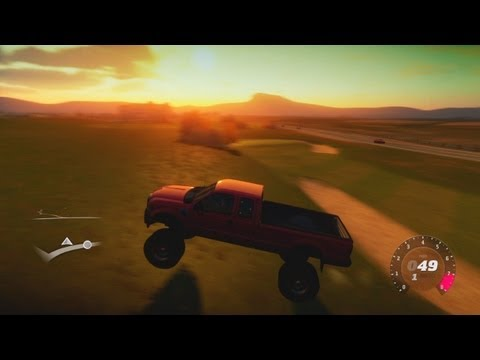 FORZA HORIZON MOD: FORD F-350 MONSTER TRUCK!