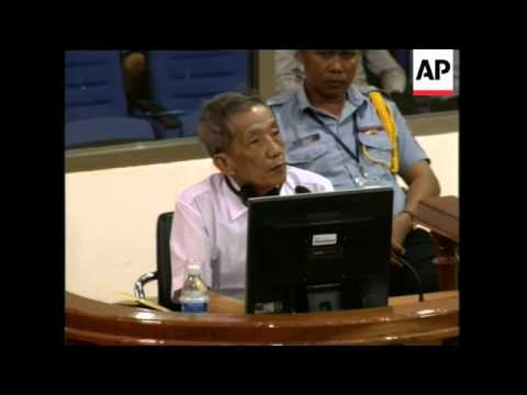 Genocide trial continues for Khmer Rouge official, Duch