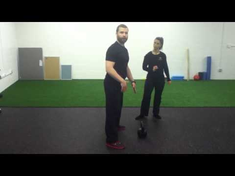 TonyGentilcore.com Kettlebell Swing Tutorial with Iron Body Studios Image 1