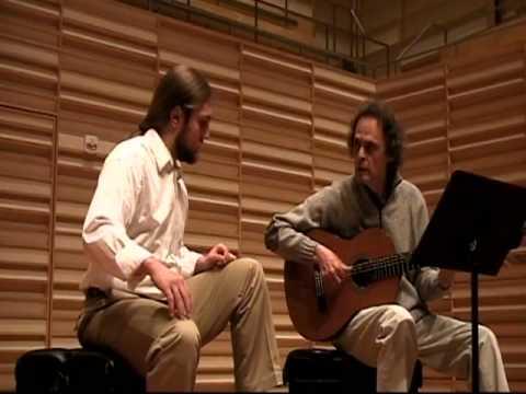 Roland Dyens Fredonia Masterclass (part 2)
