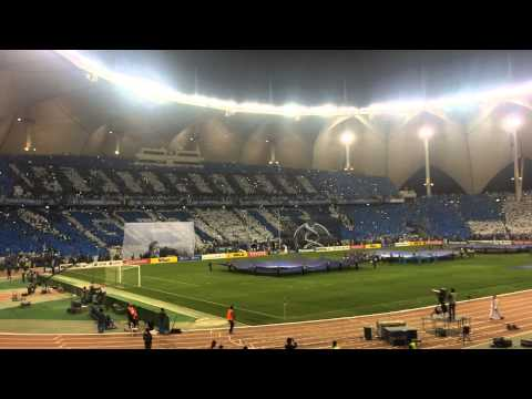 BEST TIFO in Champions League AlHilal Saudi Arabia VS Western Sydney