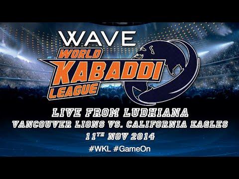 World Kabaddi League, Day 36: Vancouver Lions Vs. California Eagles