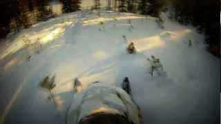 GoPro: Powder special 600 arctic cat & Ski doo Summit X 800 - part 1