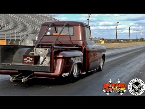 Trent Willson Radical Classic Drag Racing Chevy Truck @ San Antonio Ra