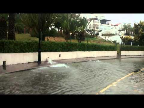 Aguas fecales en Villa Africa (Aguadulce)