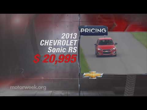 Road Test: 2013 Chevy Sonic RS