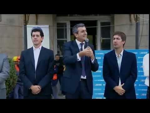 27 de MAR. Florencio Randazzo anunció la reconstrucción de la estación La Trocha en Mercedes.