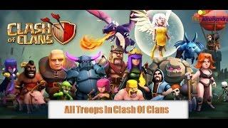 download lagu Troops Clash Of Clans - All Troops Clash Of gratis