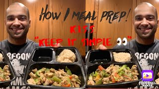 NUTRITION! How I meal prep + active recovery