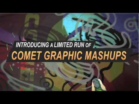 Comet Skateboards - Graphic Mashups