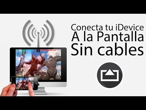 Conecta tu iDevice a tu pantalla SIN cables con AirServer.