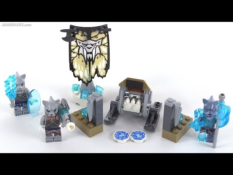 LEGO Chima Sabre Tooth Tiger Pack review! set 70232