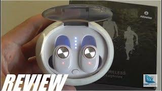 REVIEW: Alfawise V5 TWS Mini Wireless Earbuds ($25)