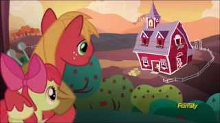 Big Macintosh and Apple Bloom sweet sibling moment (full scene)