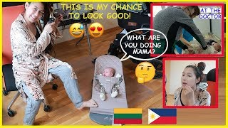 Mama wanna Look Good Today! 😅😍 + Baby's Vaccination  (PinayVlog) | it'srofa