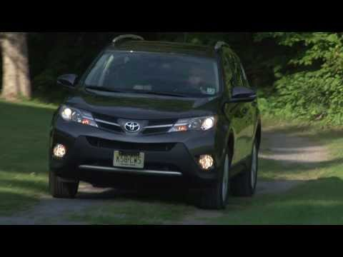2013 Toyota RAV4 - Drive Time Review with Steve Hammes